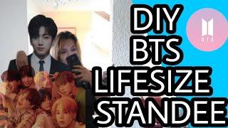 BTS DIY EASY /  LIFESIZE STANDEE
