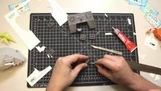 Derrick the Deathfin papercraft video