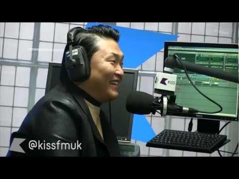 Gangnam Style PSY talks to KISS FM UK