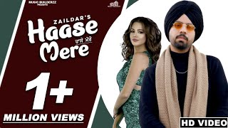 HAASE MERE TU LEJA (Official Video) Zaildar | New Punjabi Songs 2020 | Latest Punjabi Songs 2020