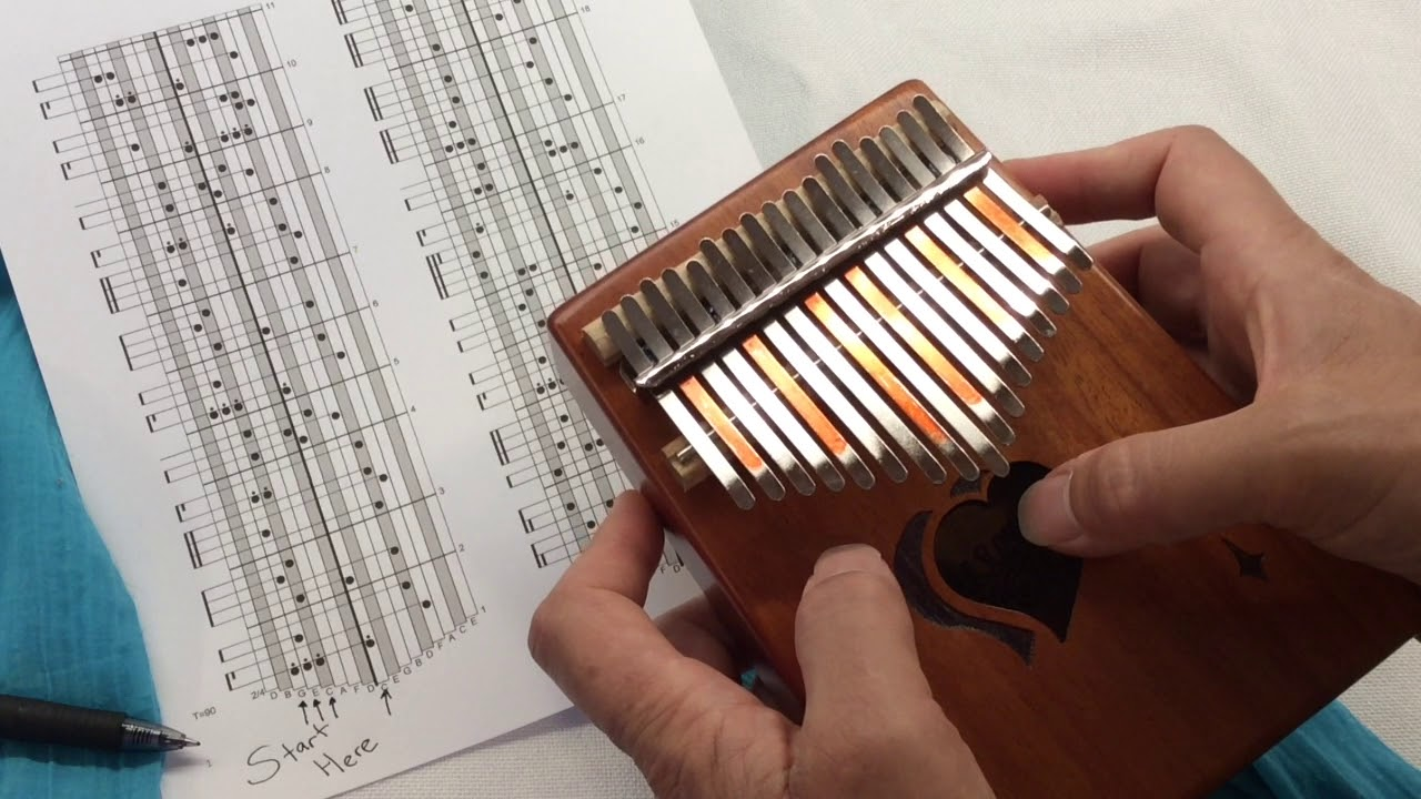 66 Songs for the 17-Note Kalimba in C - Kalimba Magic