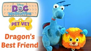 doc mcstuffins a dragon s best friend play time episode pet vet with squibbles disney jr
