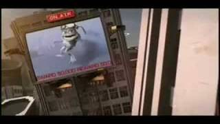 Space Chimps vs Crazy Frog email