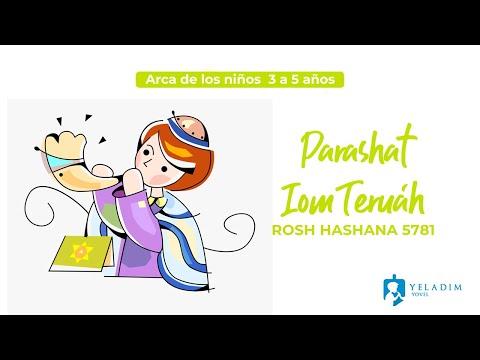 Parasha #IomTeruah #RoshHashana para Niños  - (3 a 5 años)