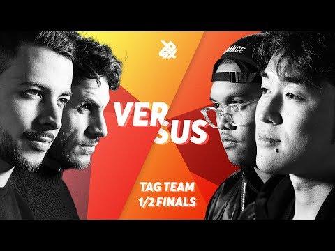 BERY vs SPIDER HORSE  |  Grand Beatbox TAG TEAM Battle 2018  |  SEMI FINAL