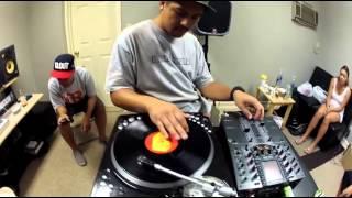 DJ IQ freestyle drums