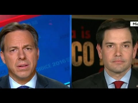 Jake Tapper To Marco Rubio: Are You In Denial?