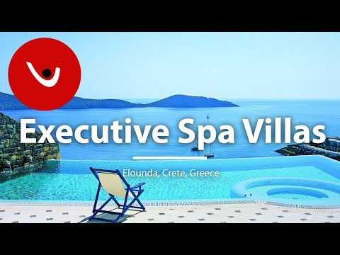 Executive Spa Villas to Rent in Elounda Crete Greece | Unique Villas | uniquevillas.gr
