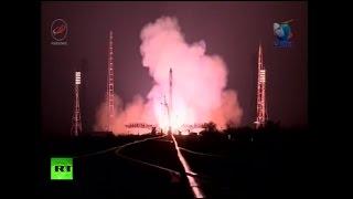 Запуск грузового корабля «Прогресс» к МКС