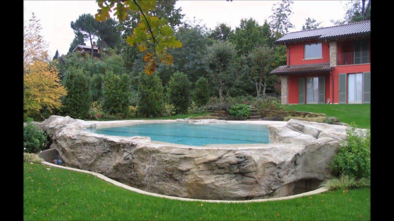 Construccion de rocas artificiales youtube for Lagunas artificiales construccion