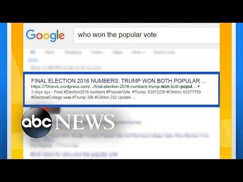 Google, Facebook Work to Ban Fake News