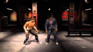 Mortal Kombat 9 Johnny Cage Fatality 1, 2, Stage and Babality (HD)