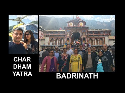BADRINATH  Dham Yatra (PART-1)   Char Dham Yatra By Helicopter