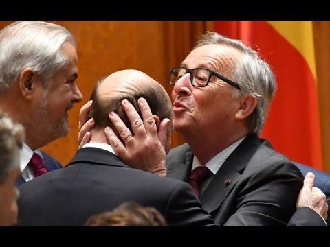 Jean-Claude Juncker în România