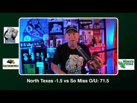 North Texas vs Southern Miss Free College Football Picks and Predictions CFB Tips Saturday 10/3/20
