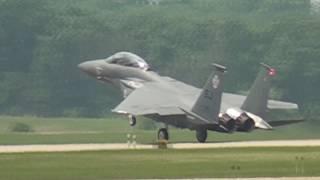 F-15 Strike Eagle: Battle Creek, Michigan. Airshow Classic 100% Awesome.