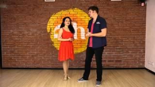 Кубинская сальса видео-урок от преподавателей школы кубаданса Пепо и Фидель (Челябинск)