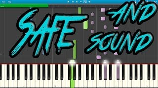 Safe and Sound - Capital Cities (Piano Cover) [Synthesia]