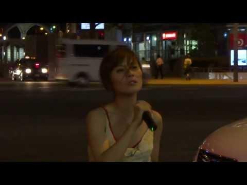 A for-Real 願い星 Street Live Osaka 19th august 2013 Mizuki Shoji