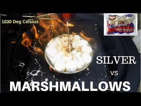 Molten Silver vs Marshmallows