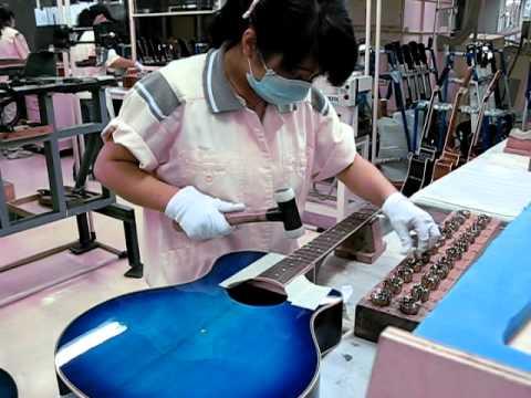 China Guitar Factory Tour