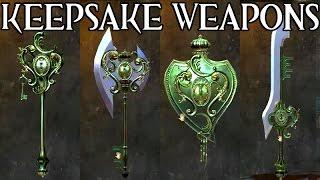 KEEPSAKE Weapon Skins ● Guild Wars 2