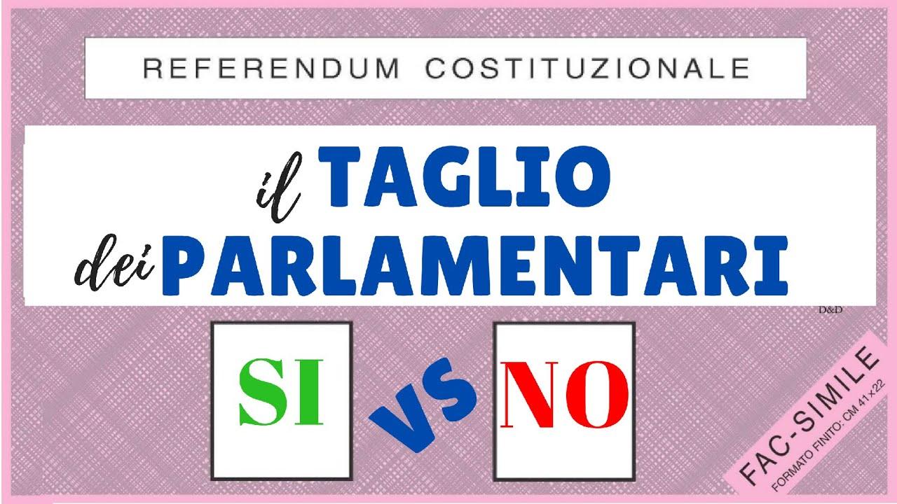 REFERENDUM TAGLIO PARLAMENTARI: PRO e CONTRO | SPIEGAZIONE COMPLETA in 5 MINUTI!