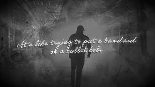 Morgan Wallen - Bandaid On A Bullet Hole (Official Lyric Video)