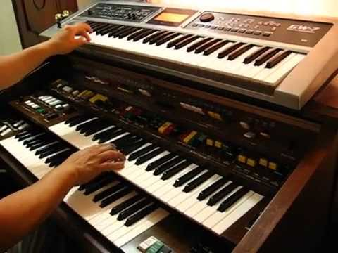 Cumbias en órgano Yamaha Electone D65 (Ángel Puruncajas)