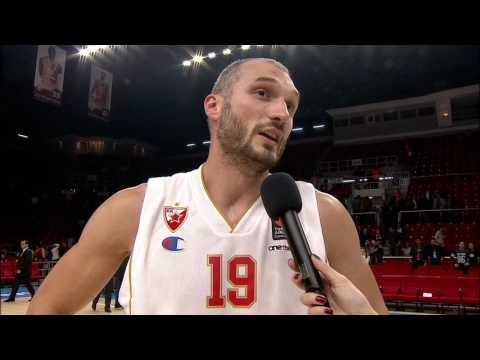 Post-game interview: Marko Simonovic, Crvena Zvezda mts Belgrade