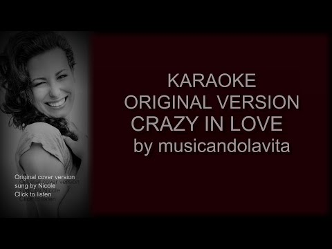 Crazy in love (Fifty Shades of Grey) - karaoke