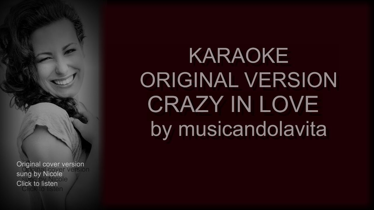 crazy in love fifty shades of grey   karaoke   youtube