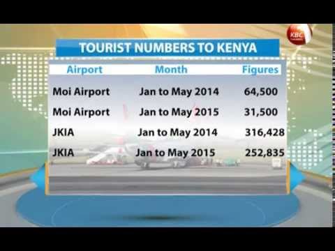 Tourist arrivals through Moi International Airport, Mombasa falls by half in five months