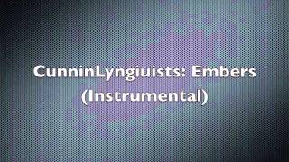 Cunninlynguists: Embers (Instrumental)