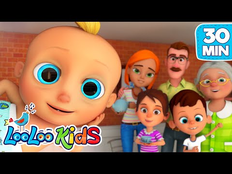 LooLoo Best Nursery Rhymes Collection | The More We Get Together | LooLoo KIDS Children`s Songs