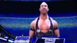 "Ryback Entrance With ""Goldberg"" Theme Song 2012!!!"