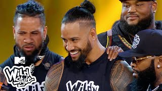Conceited Leaves WWE's Naomi & The Usos Twins On Mute 🔥 Wild 'N Out | #Wildstyle