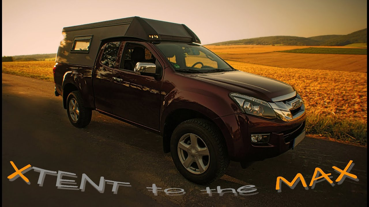 Xtent To The Max Pickup 4x4camp Expedition Campercabin