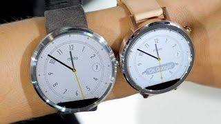 Moto 360 vs Moto 360 (2nd Gen): Show Floor Comparison(We've already shown you the second generation of the Moto 360 smartwatch here at IFA 2015 in Berlin. Now, it's time to take a look at exactly what's changed ..., 2015-09-07T13:54:45.000Z)