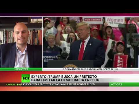 RT en Español: Experto: Trump busca un pretexto para limitar la democracia en EE.UU.