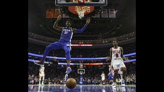 Basketball American News Sixers stomp the Bulls  More Lanbo less Fultz