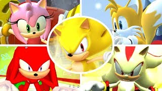 Sonic & Sega All-Stars Racing - All Ultimates (All-Star Moves)