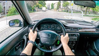 2000 Honda Civic VI [1.4 90 HP] | POV Test Drive #782 Joe Black