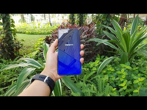 OPPO F9 Unboxing + Hands On Indonesia - Wuih