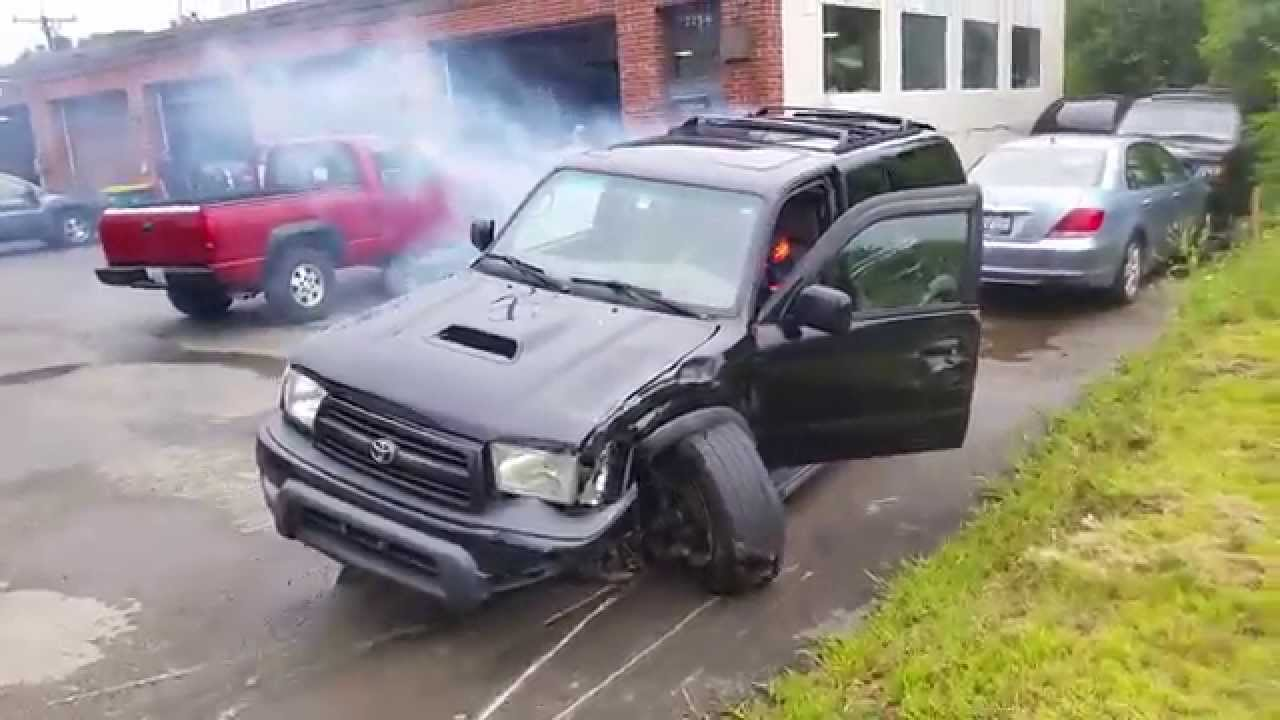 Car Accident When Car Is Totaled