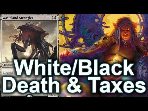 Inside The Deck #172: Modern White/Black Death & Taxes Deck Tech