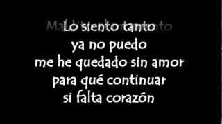 Maldita Suerte - Victor Manuelle y Sin Bandera ( Letra HD )