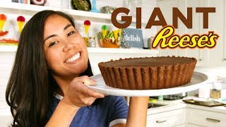 Lo Makes A GIANT Reese's Peanut Butter Cup 😱 | Delish | Whoa, Lo