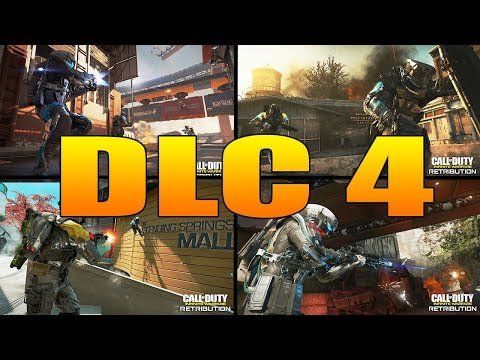 Infinite Warfare DLC 4 Retribution (Altitude, Depot 22, Heartland, Carnage, The Beast From Beyond)