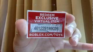 [GRATIS] ¡Código de juguete Roblox para Haggie125!